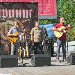 "Ансамбль ""Самарские Барды"" на сцене"