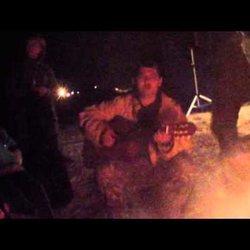 Мир бардов 2015 - ночной костер (Алексей Смирнов)