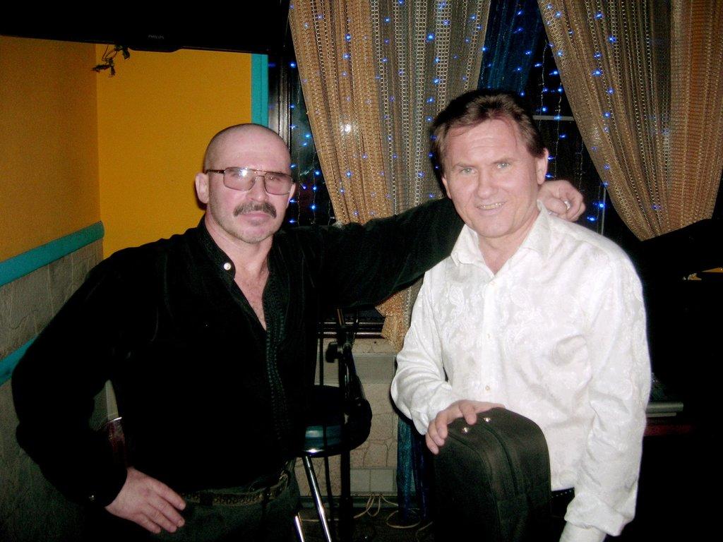 Евгений Харитонов и Евгений Биринцев